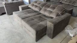 Sofa Retratil e Reclinavel Varios Modelos - Mostruario Lindissimo - Mostruario