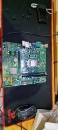 Kit Intel 3a geração Xeon 1230 12gb ram