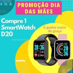 Promoção Dia Das Mães - Compre 1 e leve 2 SMARTWATCH D20