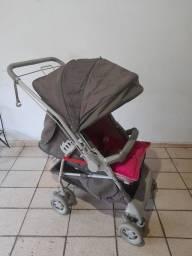 Título do anúncio: Carrinho de bebê Galzerano, rosa