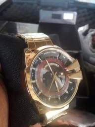 Título do anúncio: Relógio dourado patrão