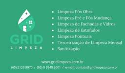 Limpezas e Sanitização - Grid Limpeza (65) 9 9940.3601