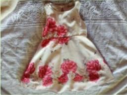 Conjunto de vestido com casaquinho