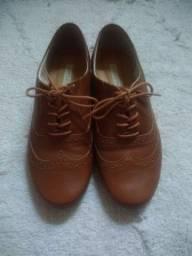 Sapato oxford marrom bottero novo tam 36