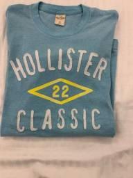 Blusa malha Hollister