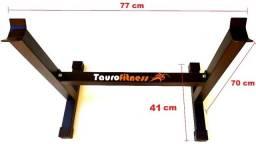 Suporte Cavalete Fixo Bíceps Tríceps Reforçado Taurofitness 70 cm