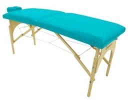 Título do anúncio: Mesa de massagem dobrável verde água