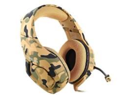 headset gamer onikuma camuflado pronta entrega (leia descrição)