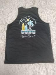 Camiseta em malha de radiosa tamanhos P, M, G, GG