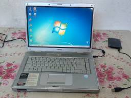 Notebook básico para textos/músicas/internet HP 14 Polegadas 2GB 160GB 1.8GHz