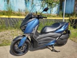 yamaha x max 2021 azul com apenas 2 mil km moto impecável