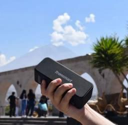 caixinha de som Tronsmart bluetooth e NFC 20w