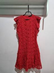 Vestido Rendado Zara