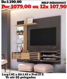 Grande Promoção MS- Painel de televisão até 60 Plg-Painel Sala de Estar- Painel