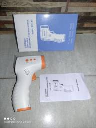 Termômetro Digital Laser Infravermelho Febre De Testa Corpo