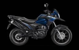 Moto Xre 190 cor azul escuro ano 2021
