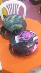 Título do anúncio: 2 capacete quebra galho