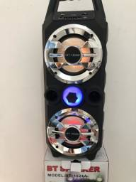 Caixa de Som Bluetooth Rádio selecionada