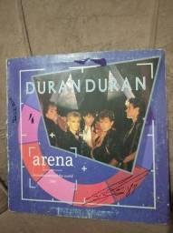 Lp Duran Duran (1984) Arena, Capa dupla