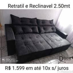 LINDOS SOFÁS DIRETO DA FÁBRICA DBOX  10x SEM JUROS