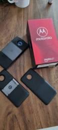 Moto z3 play com projetor e baterias