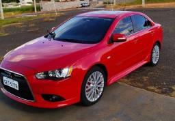 Lancer GT vermelho impecável