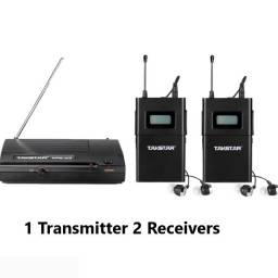 Retorno sem fio Takstar WPM-200 com 2 receptores