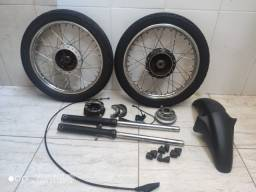 Kit Roda e bengala Titan 150