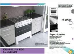 Ofertas Mais - Fogão - 5 Bocas - Fratelle