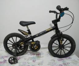 Bicicleta infantil Batman Bandeirante