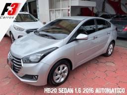 Título do anúncio: Hb20 Sedan 1.6 16/2016 Autom