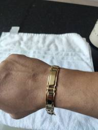 Pulseira de ouro 30.6 gramas 18k