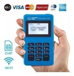 Título do anúncio: Máquina de Cartão Point Mini Chip Aceita Banese