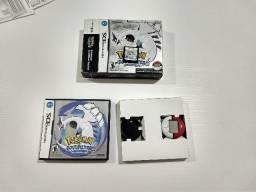 Pokémon Soulsilver edição completa com pokéwalker