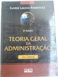 Teoria Geral da Administração - Uma Síntese