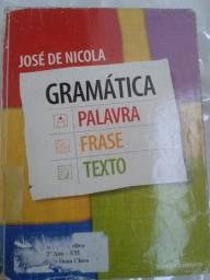 Gramática - Palavra frase texto