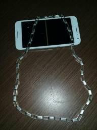 Vende se um cordão de prata 40grama e um celular alkateu A 3