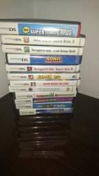 Vendo jogos de Nintendo Ds e 3Ds originais.