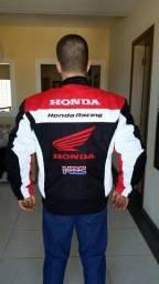 Jaqueta masculina moto