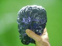 Linda Peça Natural Mistica de Obsidiana Bi-color