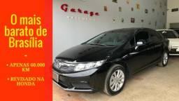 Civic LXS 1.8 Manual - 60.000 km ún. dono - revisado honda - 2015