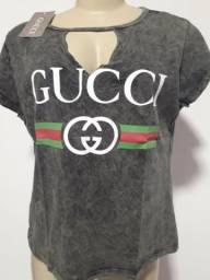 f68fdb83ad Lote com 2000 camisetas femininas de marcas famosas por 10 Reais Unidade