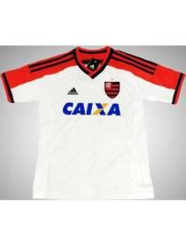 Camisa Original Infantil Flamengo Adidas Branca 2014 c39b517653864