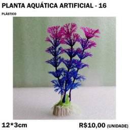 Título do anúncio: Planta Aquática Artificial Modelo 16