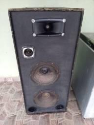 Caixa De Som 12' 600 Watts Audio Profissional