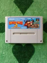 Cartucho original do vídeo game Nintendo Donkey Kong 2