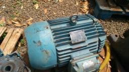 Motor Elétrico 12,5 Cv 2 Polos 3515 Rpm 220/380v 132m