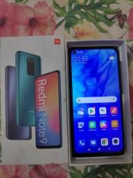 Xiaomi note 9  64 gb zero apenas 1 semana de uso R$1.200 vender logo