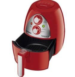 Fritadeira Elétrica Sem Óleo Mondial Family Inox 4L