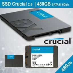 Ssd Crucial Bx500, 480gb, Sata, Ct480bx500ssd1